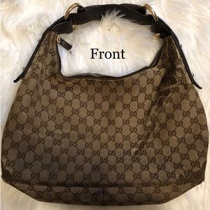 Authentic Gucci Brown Hobo Bag